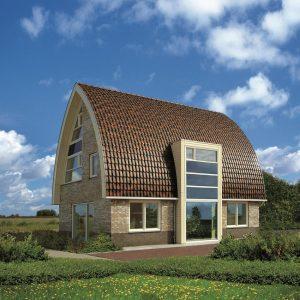 Dom so strechou Roben Piemont Jesenny list