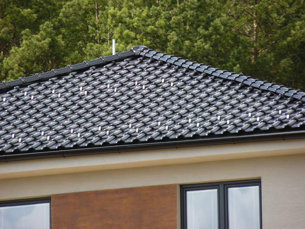 Keramická strešná krytina Röben monza plus tobago glazúra - realizácia strechy