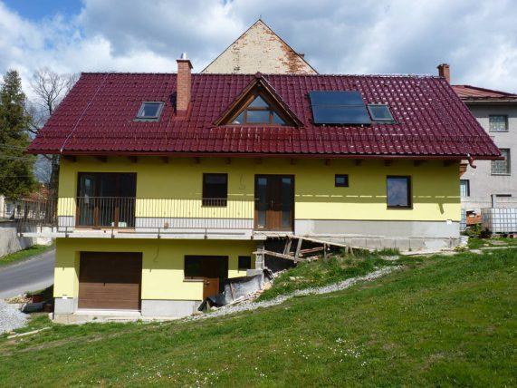Keramická strešná krytina Röben monza plus trentino glazúra - realizácia strechy