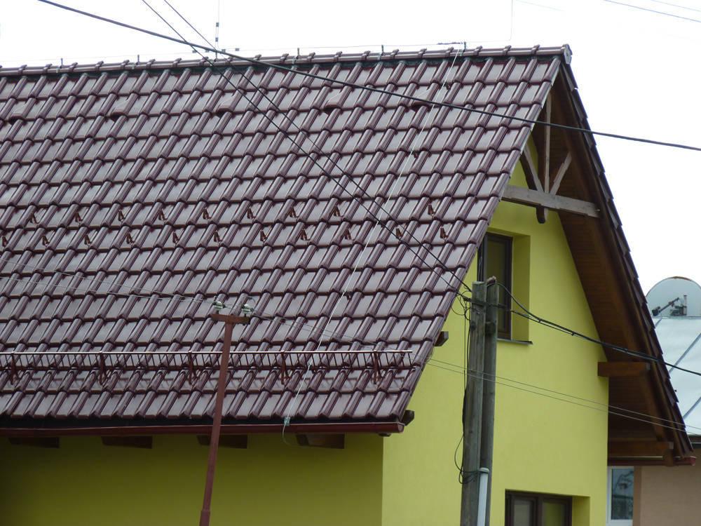 Keramická strešná krytina Röben piemont trentino glazúra - realizácia strechy