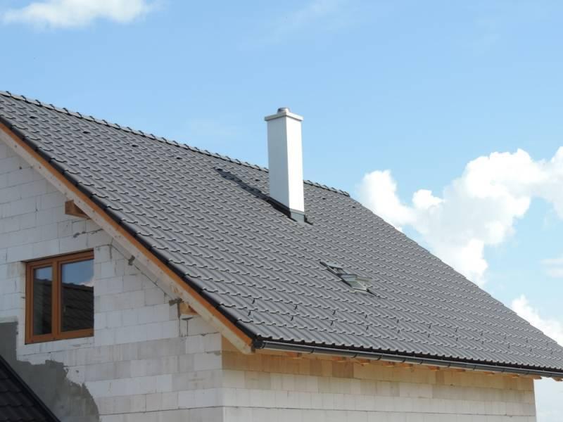 Keramická strešná krytina Röben piemont antracitová engoba - realizácia strechy