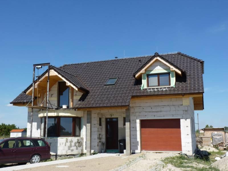 Keramická strešná krytina Röben piemont hnedá engoba - realizácia strechy
