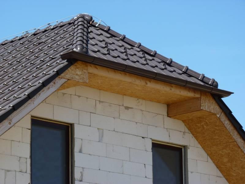 Keramická strešná krytina Röben piemont hnedá engoba - realizácia strechy detil