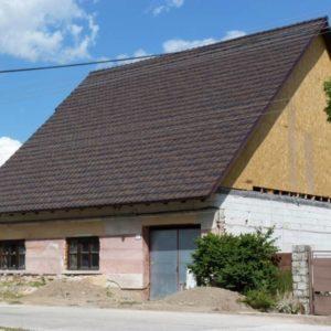 Keramická strešná krytina Röben piemont jesenný list - realizácia strechy