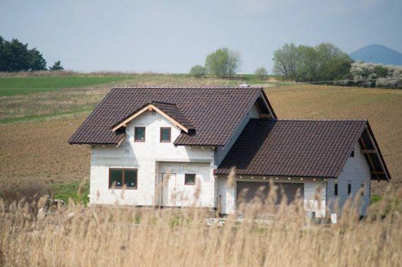 Dom so strechou Röben Piemont