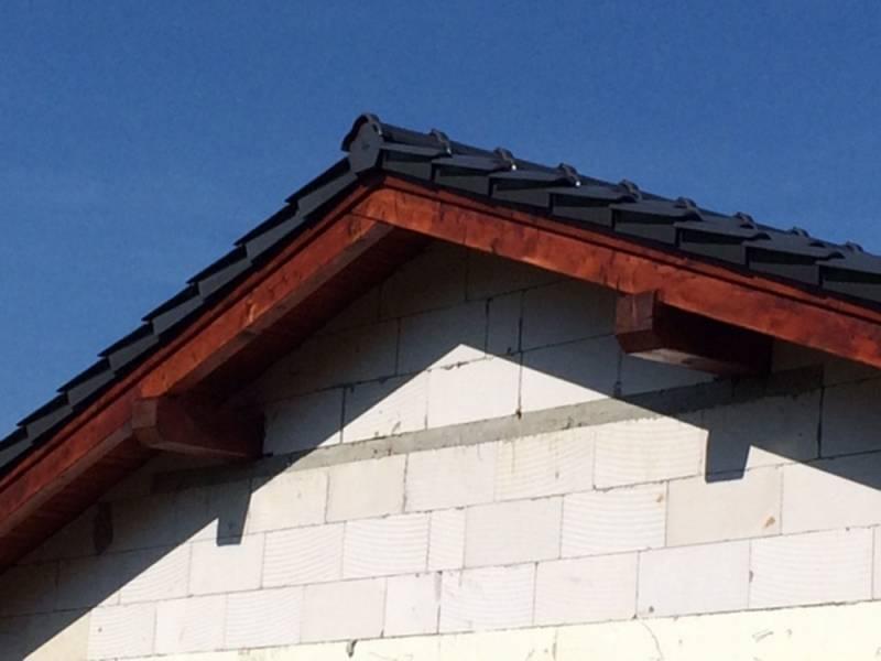 Keramická strešná krytina Röben piemont titan - realizácia strechy detail