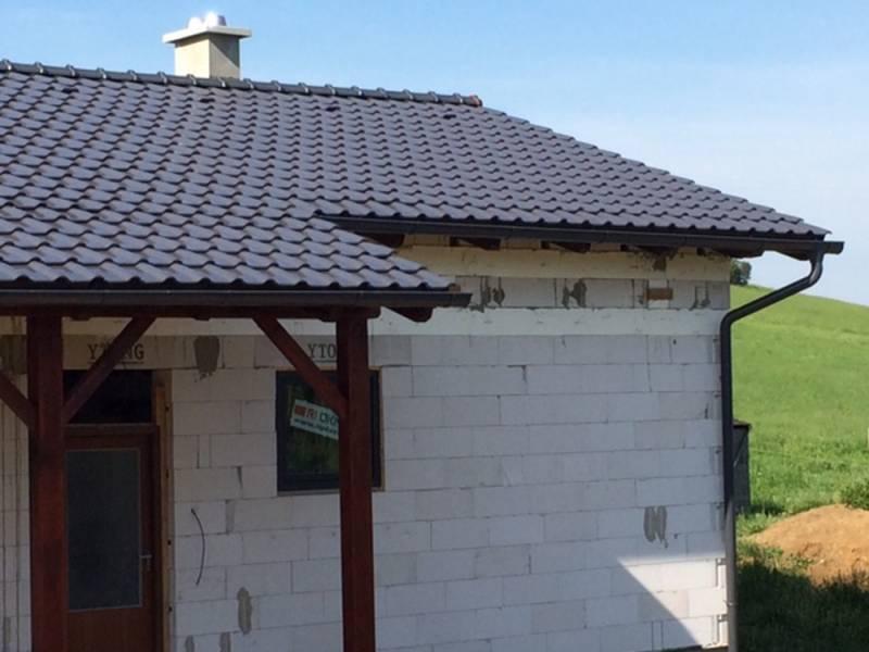 Keramická strešná krytina Röben piemont titan - realizácia strechy