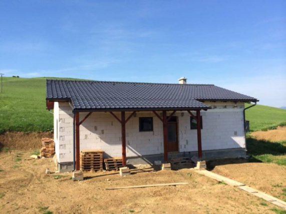 Realizácia strechy so škridlou Röben Piemont Titan