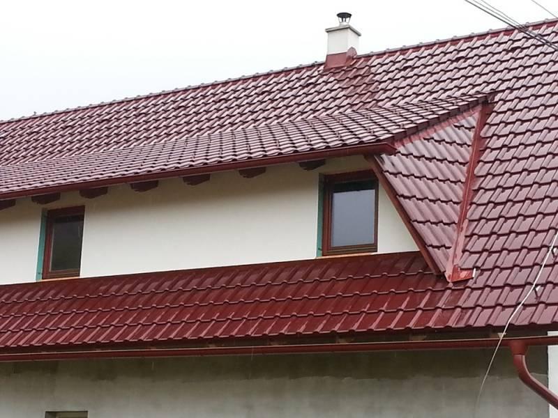 Keramická strešná krytina Röben piemont trentino - realizácia strechy