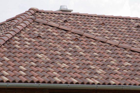 Betónová strešná krytina Terran Coppo ferrara - realizácia strechy