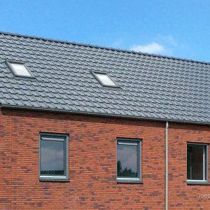 Realizácia strechy s škridlou Röben Piemont Grafit